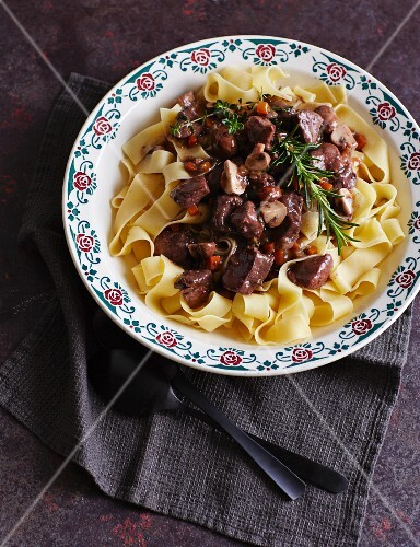 Pappardelle with wild boar ragout
