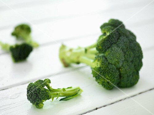 Pieces of Fresh Broccoli