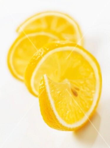 Lemon slices (close-up)