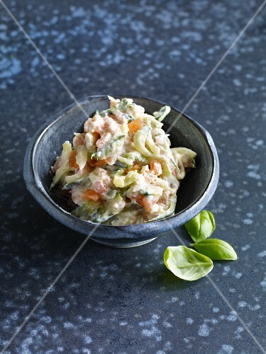 Smoked salmon and courgette spread