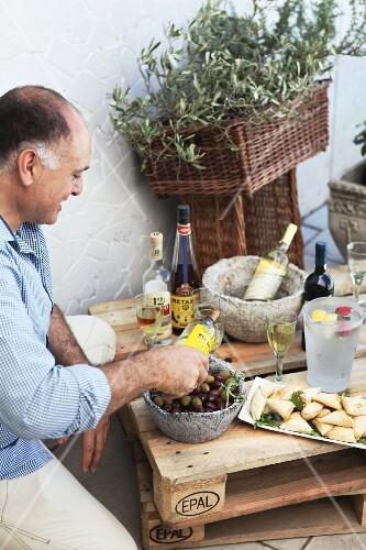 An appetiser for Easter dinner, Greece
