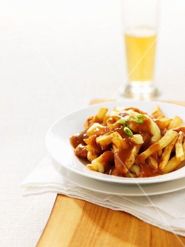 Poutine – chips and cheese covered in gravy (Canada)