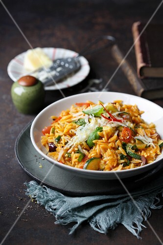 Pastasotto with vegetables