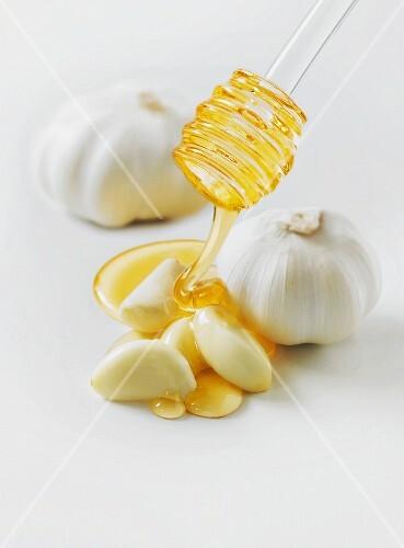 Honey and garlic