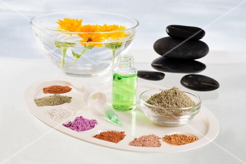 Natural colourings for personal hygiene