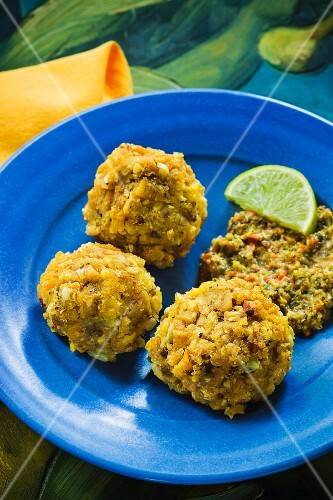 Mofongo - Puerto Rican plantain dumplings