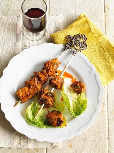 Spicy kebabs