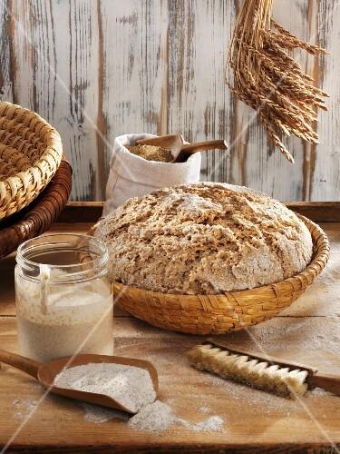 Steps for Making Bread Dough