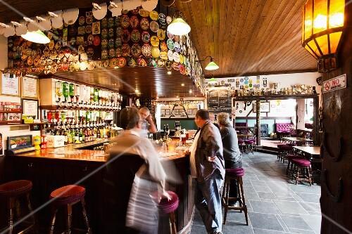 The Star Inn pub in Cornwall (England)