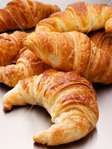 Several croissants