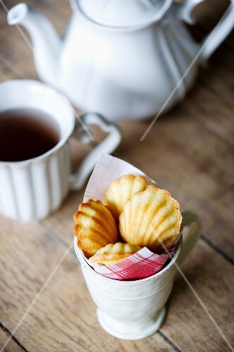 A cup of madeleines