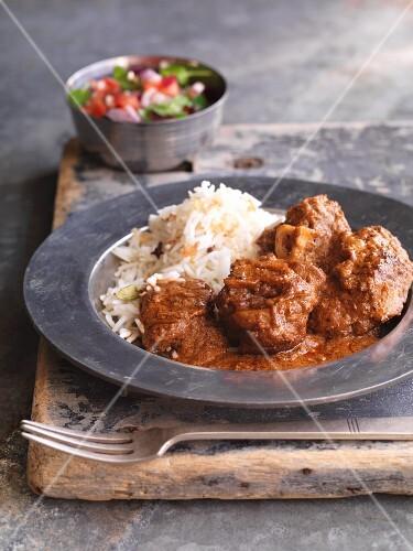 Rogan josh - aromatic lamb dish from Persia