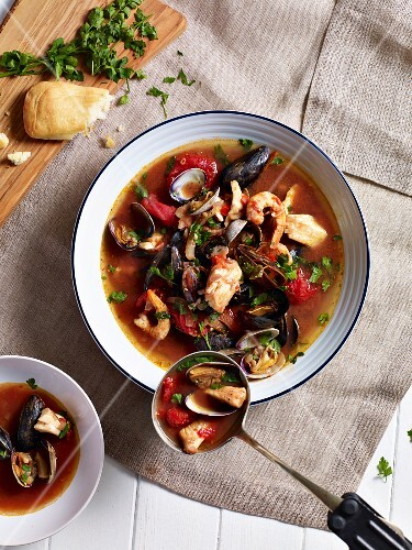 Cioppino (fish soup from California)