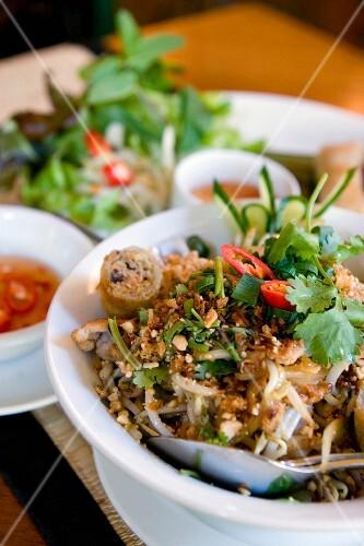 A dish at the Cyclo Vietnamese restaurant (Munich, Bavaria)
