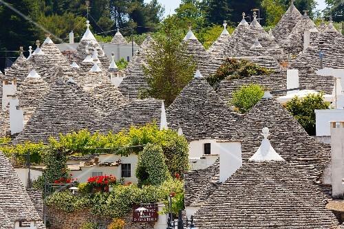 Trulli houses in Alberobello (Italy)
