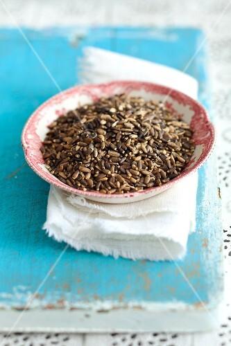 Milk thistle seeds (Silybum marianum)