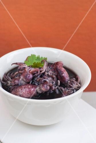 Braised squid (Thailand)