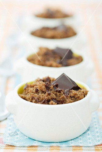 Couscous with chocolate