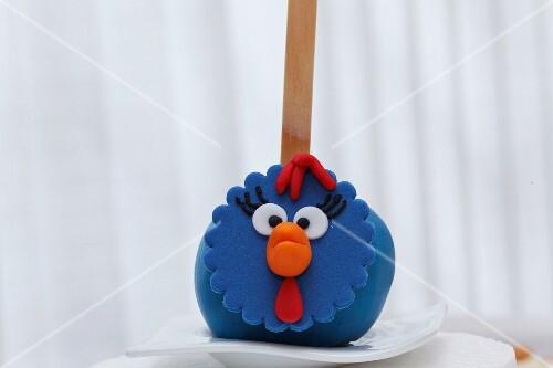 A chicken cake pop