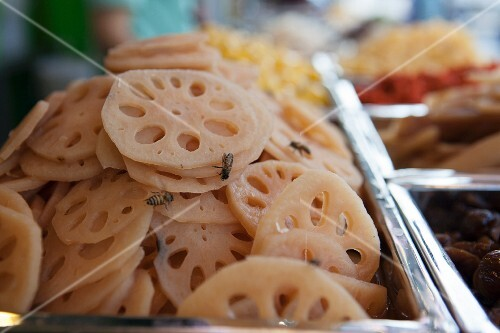 Lotus roots in syrup (Thailand)