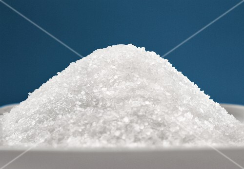 A pile of sugar (close-up)