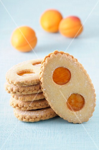 Apricot biscuits