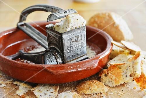 A bread grater