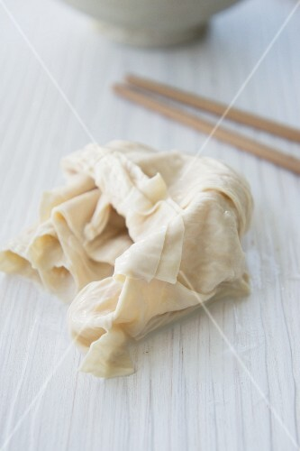 Yuba - soya milk skin (speciality from Kyoto, Japan)