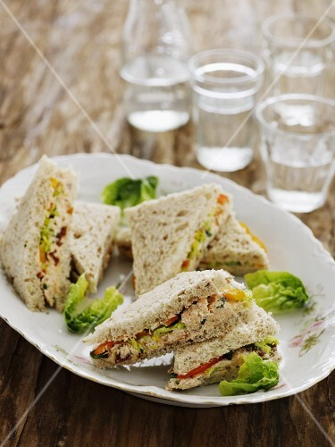 Tuna fish sandwiches