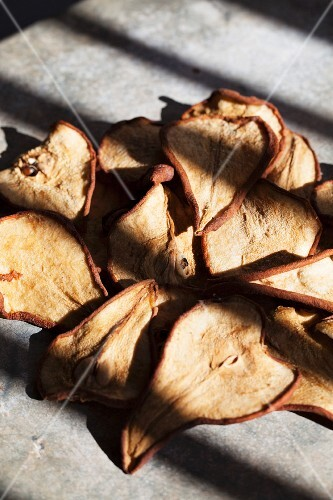 Sun dried pears