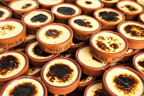 Hamsiköy is famous for its rice pudding made in simple kitchens in small companies