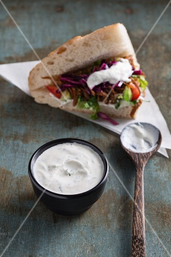 Haydari sauce – a Turkish classic for donner kebab