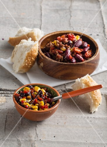 Tex Mex pepper and sweetcorn relish