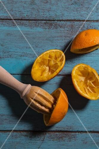 Pressed oranges