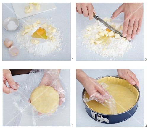 Basic shortcrust pastry recipe