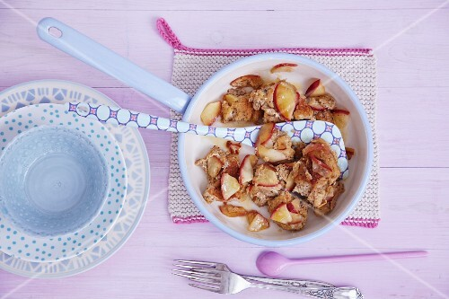Couscous and apple hash