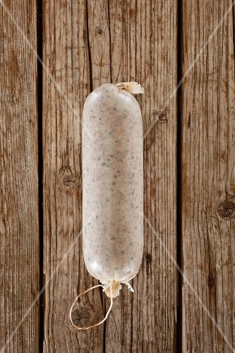 A Thuringian liver sausage