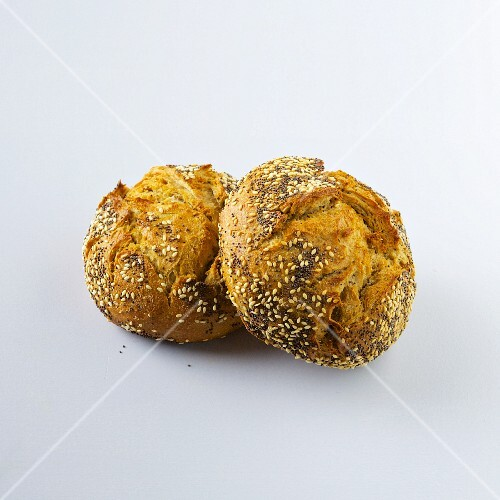 Two seeded rolls