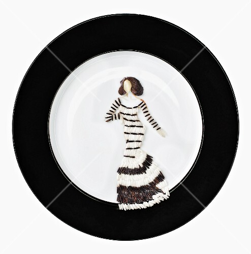 Fashion Food: wild rice with dried mushrooms