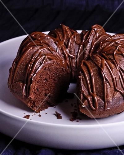 A Chocolate Bundt Cake