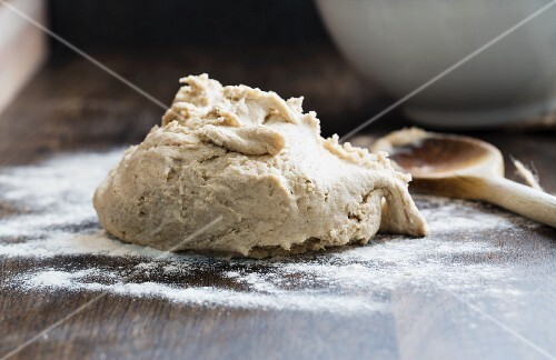 Dough for gluten-free and nut-free rolls