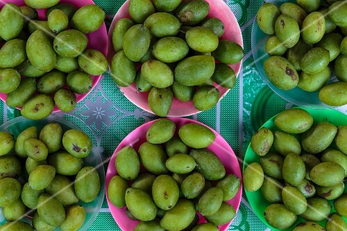 Green olives, Thailand