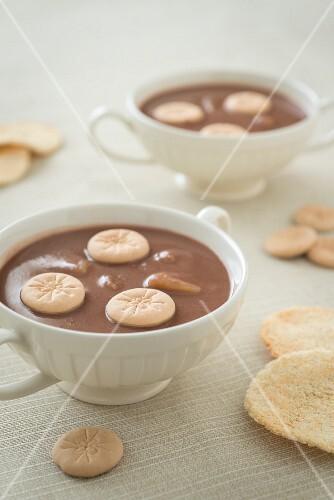 Habichuelas con Dulce (sweet bean cream, Caribbean)