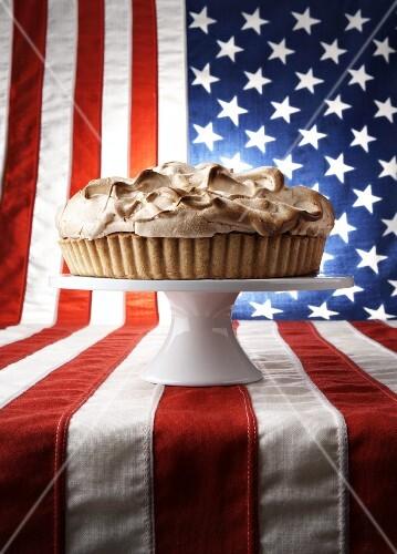 Lime meringue pie (USA)