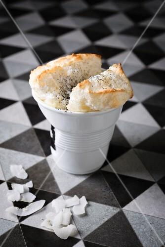 Coconut souffle