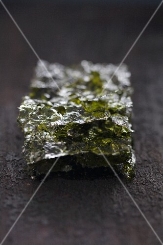 Salted nori leaves (a popular snack in Japan, China and Korea)