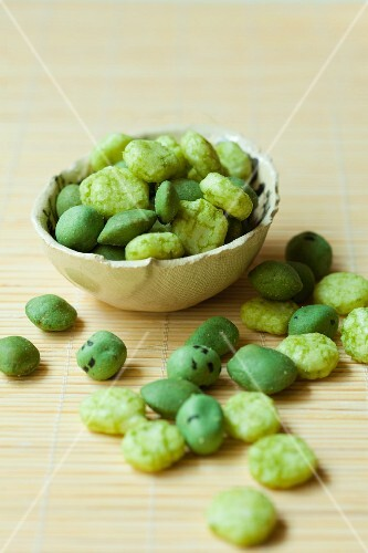 Wasabi peas from Japan