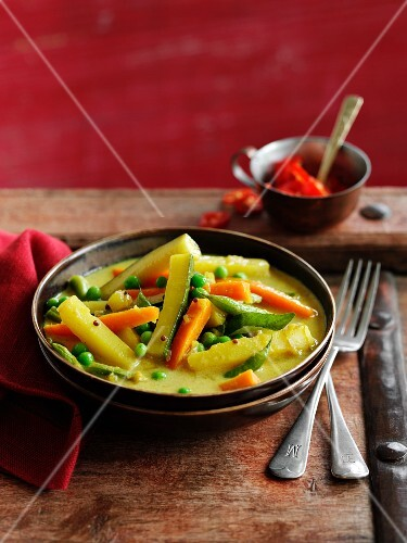 A vegetable and coconut ragout from Kerala, South India