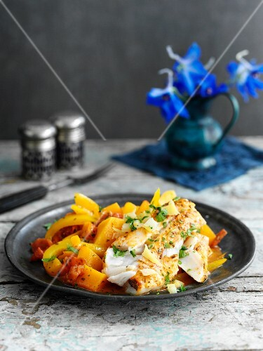 Fish tagine with lemons