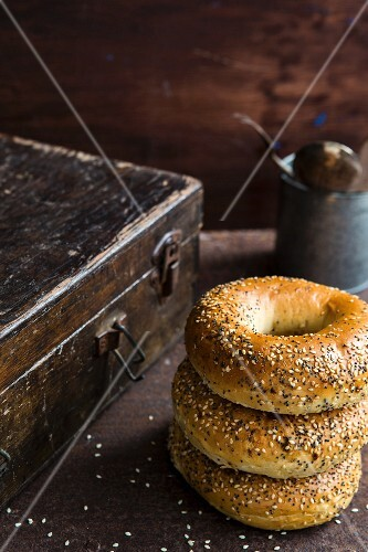 Two Whole Everything Bagels